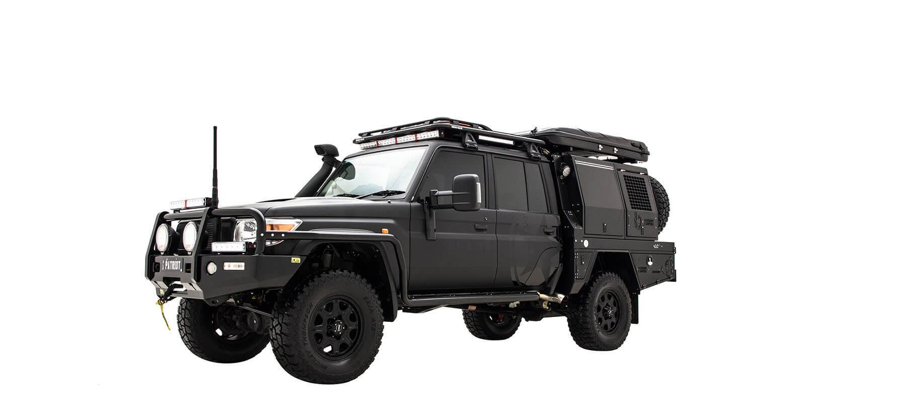 lc79超级越野旅行车是你探索极端环境的最好选择